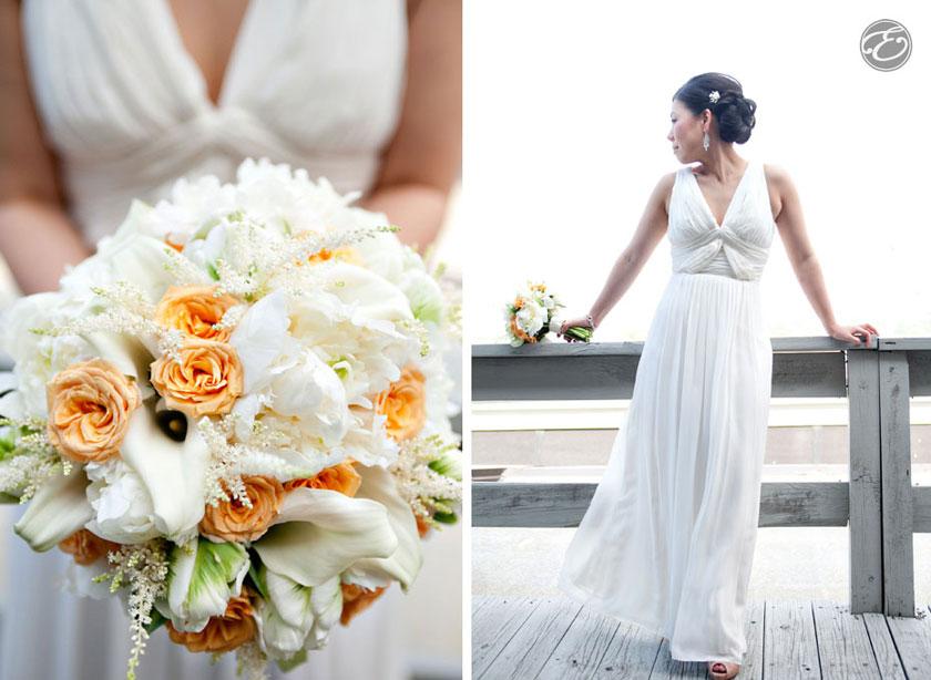 montauk wedding photographer 01 A Montauk Yacht Club Wedding