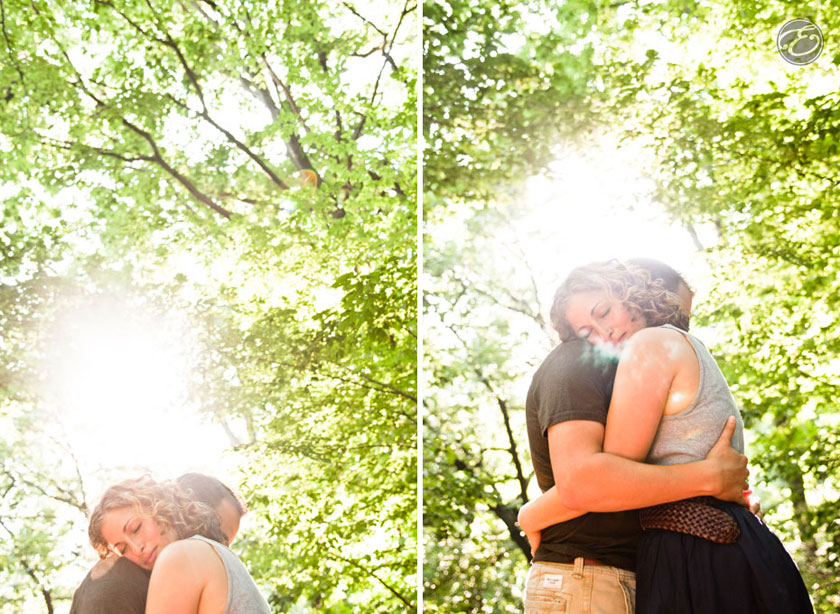 prospectpark engagement photographer 02 A Prospect Park Engagement Shoot