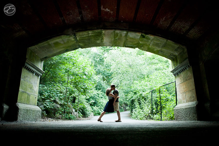 prospectpark engagement photographer 07 A Prospect Park Engagement Shoot