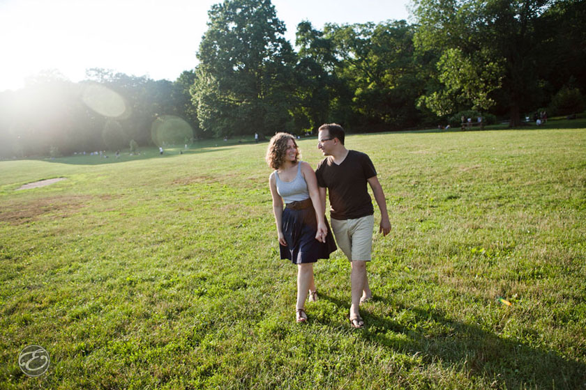 prospectpark engagement photographer 09 A Prospect Park Engagement Shoot