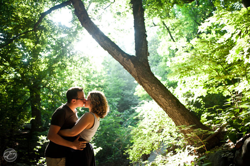 prospectpark engagement photographer 12 A Prospect Park Engagement Shoot